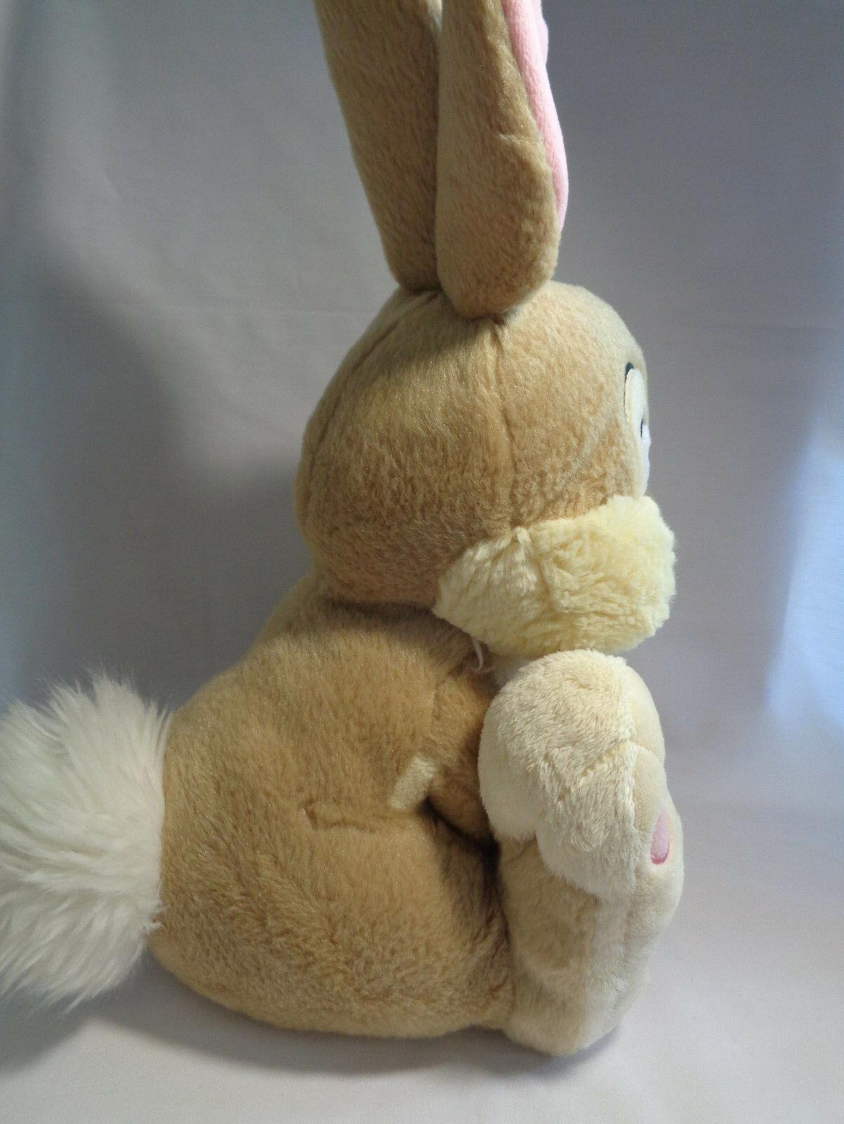 "Disney Store Genuine Original Miss Bunny Thumper Bambi Friend Soft Plush 10"""