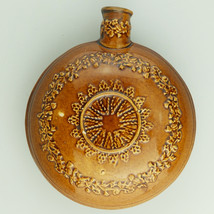 Antique Stoneware : A scarce pottery Pilgrim Flask C.19thC - $115.23