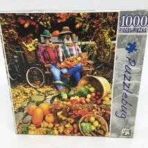 "New Puzzlebug 1000 piece puzzle -Fall Theme #3709- 18.25"" x 23"" - $10.39"