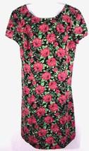 Forever 21 Plus Size 1X Sheath Dress Multi Color Floral Print Women Shor... - $16.33