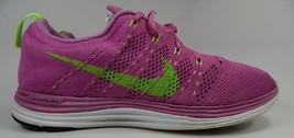 Nike Flyknit Lunar 1 + Size 8.5 M (B) Eu 40 Donna Scarpe da Corsa Rosa