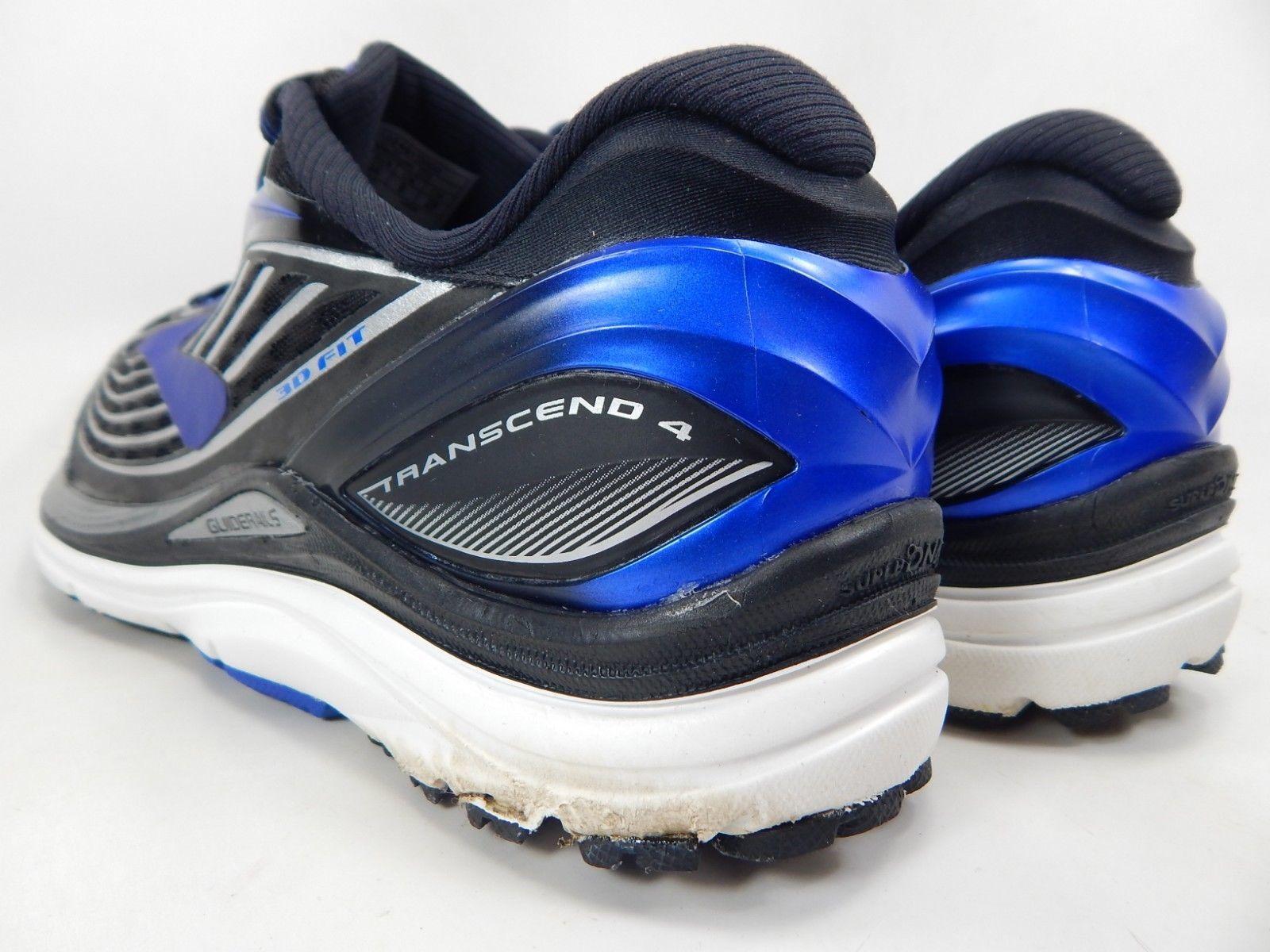 Brooks Transcend 4 Size US 10 M (D) EU 44 Men's Running Shoes Black 1102491D002 image 4