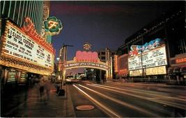 Chrome Postcard NV I171 Reno Arch Nevada Club Virginia Street Casinos Ga... - $3.37