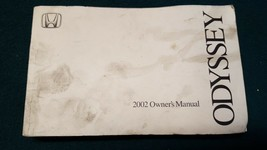 2002 Honda Odyssey Owner's Owner Manual ONLY No Case or Supplemental Documents - $11.64