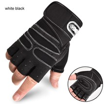 Half Finger Cycling Gloves Weight Lifting Gloves Protect Wrist Gym Train... - $27.06