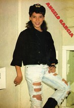 Menudo teen magazine pinup clipping Ripped Jeans and Bulge Tiger Beat Bop