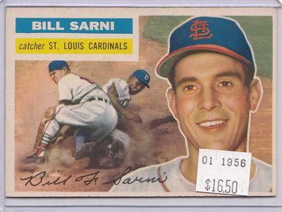 1956 Topps 247 Bill Sarni Not Graded 01