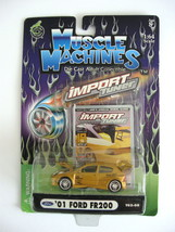 2002 Muscle Machines Die Cast Adult Collectible - Import Tuner - '01 Ford FR200  - $8.00