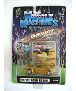 2002 Muscle Machines Die Cast Adult Collectible - Import Tuner - '01 For... - $8.00
