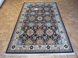 6 X 9 Brand New Karastan Sovereign Black Emir Rug #990 - $1,744.88