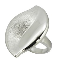 R &T-70408 Ring Women's 925/1.000 Silver, 7.43 g Q - $63.42