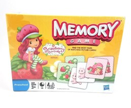 Strawberry Shortcake Memory Game Matching Picture Cards Preschool NEW Ha... - $24.57