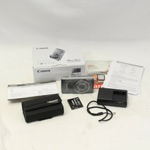 Canon Power Shot Elph 160 20.0MP Camera Silver 8GB Sd Card Tested Guaranteed - $117.60