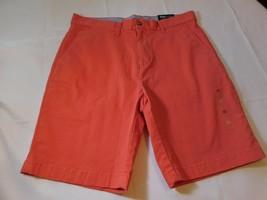 "Tommy Hilfiger THFlex Men's Shorts 9"" Inseam Flat Front 31W 78D1590 821 NWT - $37.41"