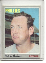 (b-31) 1970 Topps #24: Dick Selma - $1.00