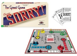 Sorry Classic Edition Board Game  Family Fun  - $29.99