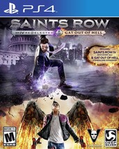 Saints Row IV: Re-Elected   Gat out of Hell PlayStation 4 Disc - $64.50