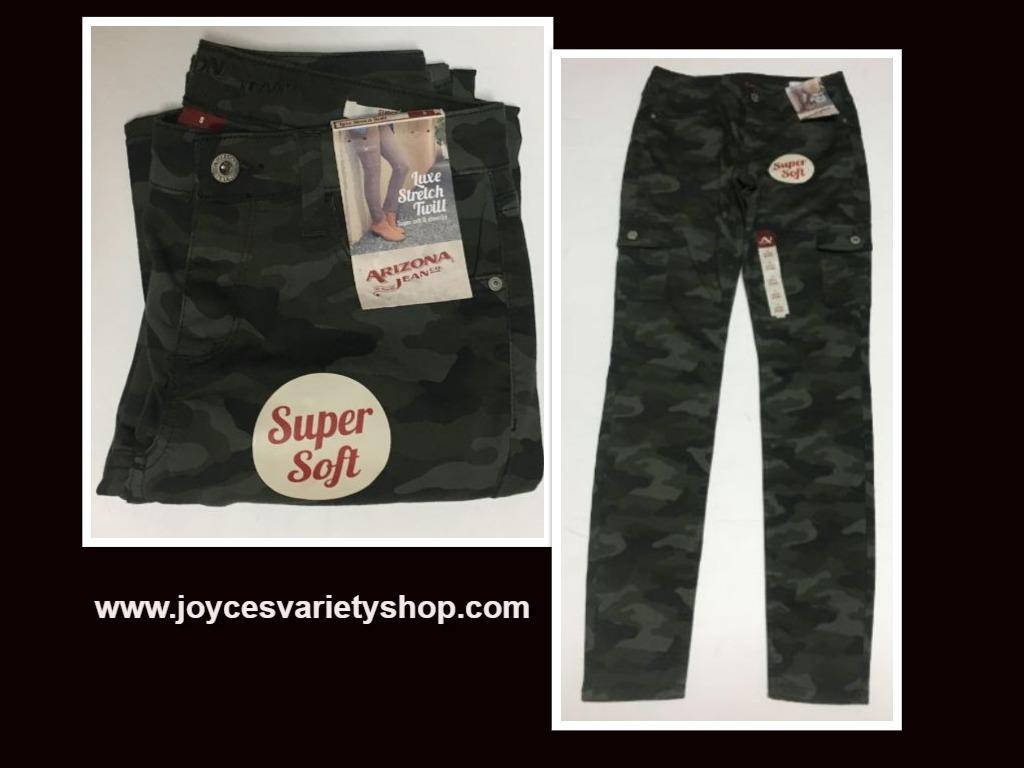 Arizona Camouflage Super Skinny Soft Stretch Pants Sz 5
