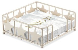 Genießen Sie Marmor weiß grau gold 20 x 3-lagige Papierservietten & STER... - $16.35