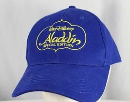 Walt Disney Aladdin Special Edition Blue Baseball Hat Adjustable Disney - $19.99