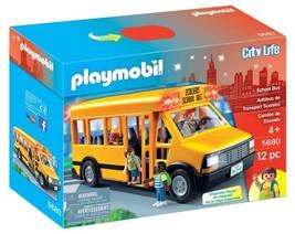 PLAYMOBIL School Bus Kids Boys Toys Gift Christmas Birthday NEW - $44.22