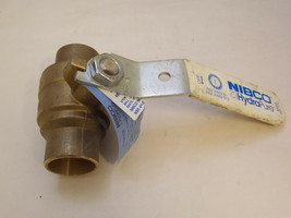 NIBCO 1-1/4 in S-585-80-LF Bronze Ball Valve Lead-Free Solder End Style ... - $50.00