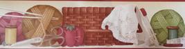 Knitting & Sowing Supplies Wallpaper Border Patton Norwall BT77704 - $16.99