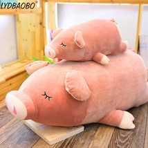 LYDBAOBO 1PC Giant Fart Peach Pig Stuffed Plush Doll Lovely Pig Animal T... - $47.30