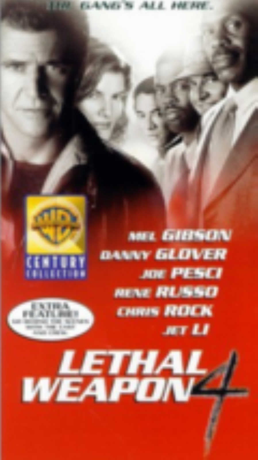 Lethal Weapon 4 Vhs