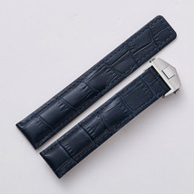 22MM Leather Watch Band Strap With Clasp Made For Tag Heuer Carrera Calibre - $32.71