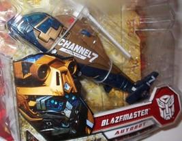 BLAZEMASTER CHANNEL 7 COPTER Transformers ROTF Movie 2 Deluxe Figure 200... - $18.99
