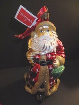 Waterford Holiday Heirlooms Father Christmas Santa Ornament 2013 New #16... - $79.94