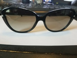 RALPH LAUREN RL 8094-B 50018E BIJOU Sunglasses Polished Black ~ Italy..B... - $98.01