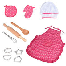 Cooking And Baking 11 Pieces Kitchen Costume Hat Role Pretend Play Toys ... - $19.99