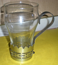 Soda Fountain Glass & Handle set Vintage from 1950's - $4.95