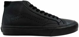 Vans Court Mid DX Leather Black VN0A2Z5PL3A Men's Size 4 - $60.00