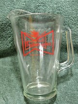 Vintage Collectible BUDWEISER Glass Pitcher-Tavern-Beer-Home-Man or Woma... - $24.95