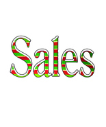 44-Sales S2-Digital ClipArt-Art Clip-Holiday-SVG and JPG-Gift Tag - $10.00