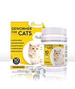PETANIX 10 Tablet Cat Intestinal Cleanse – Deworming Treatment for Tapew... - €14,18 EUR
