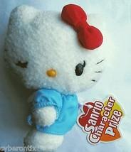"Hello Kitty Doll Plush Toy Japanese Sanrio Eikoh Winking Head Turned 5"" 2005 - $6.83"