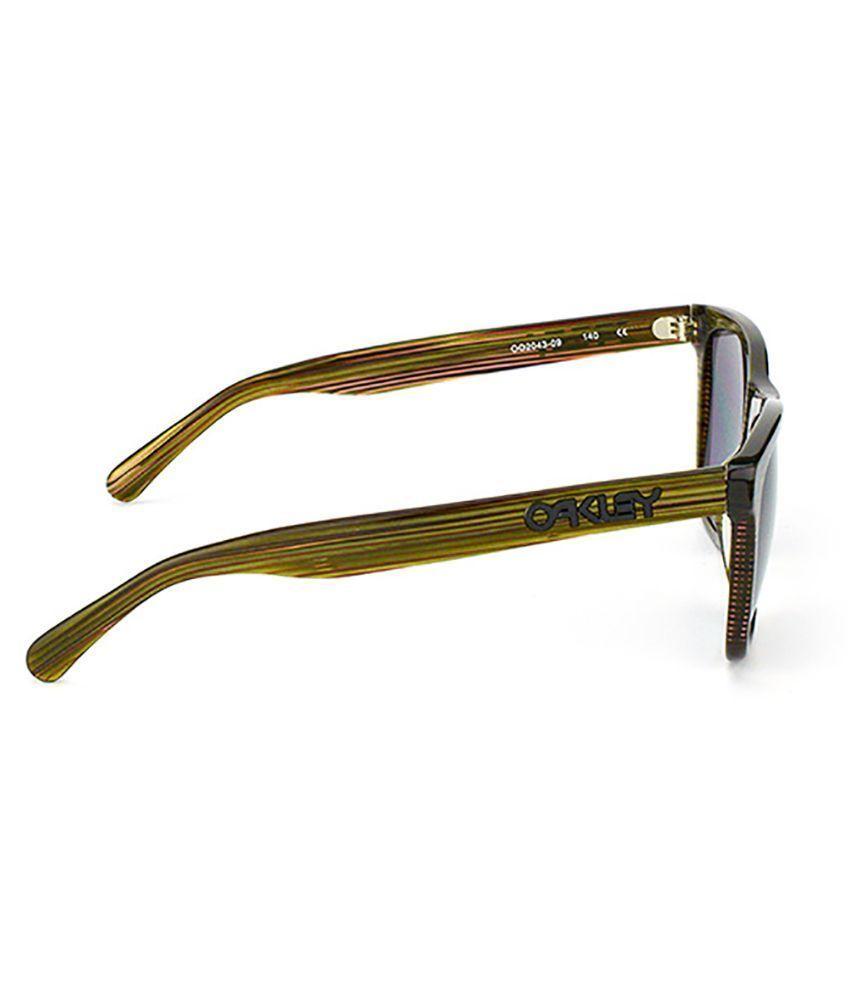 Oakley Frogskins LX de Marque Vert W/Grises Polarisées OO2043-09