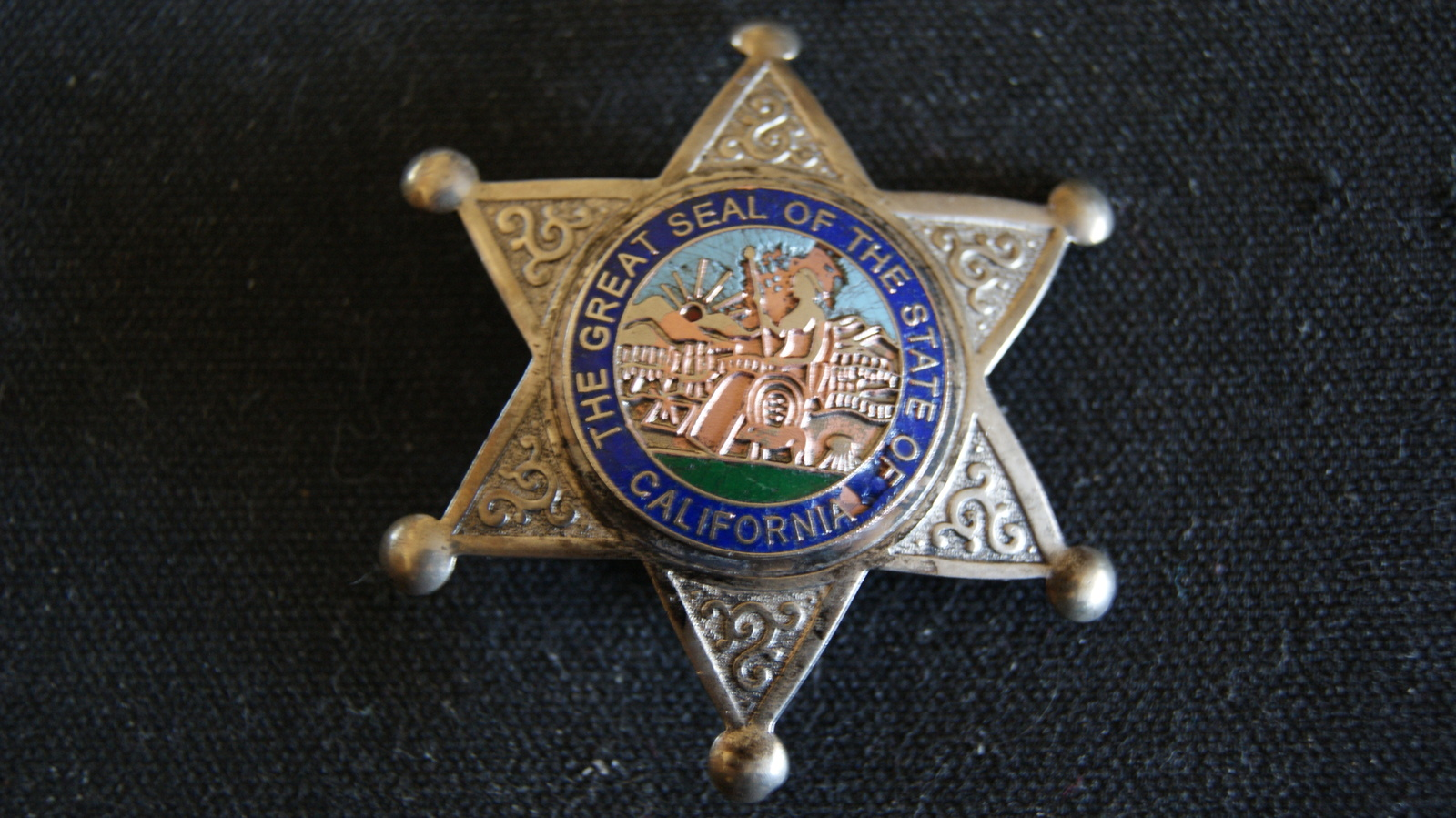 aac27bb92e9 1920 s.Deputy Sheriff Badge.Six point star and 50 similar items