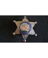 1920's.Deputy Sheriff Badge.Six point star hat badge Eureka, Hallmark l.... - $120.99