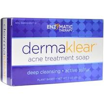 Enzymatic Therapy, DermaKlear Acne Treatment Soap, 3 oz (85 g) - $9.99