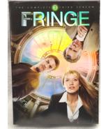 FRINGE third three 3rd Season 16hrs DVD Leonard Nimoy,Anna Torv,Jasika Nicole - $18.78