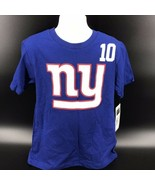 NFL New York Giants #10 Eli Manning Tee Shirt Size Kids L (12/14) -NEW W... - $14.99