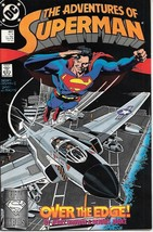The Adventures of Superman Comic Book #447 DC Comics 1988 VERY FINE+ UNREAD - $2.50