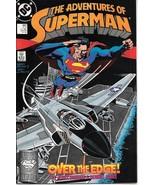 The Adventures of Superman Comic Book #447 DC Comics 1988 VERY FINE+ UNREAD - $2.50