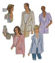 B4138 Butterick fast and easy Uncut sewing pattern Women Misses Loose fi... - $7.99