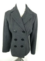 GUESS Los Angeles Wool/Polyester Pea Coat Double Breasted Jacket Size S - $19.99